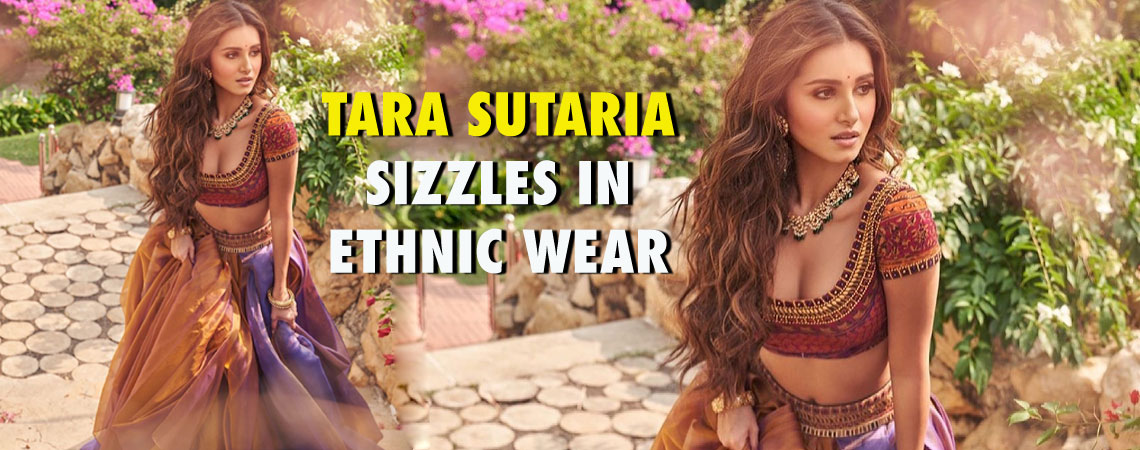TARA SUTARIA SIZZLES IN ETHNIC WEAR